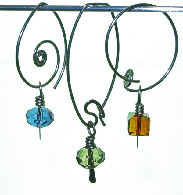 Titanium & Swarovski Brio and Cube Earrings.jpg