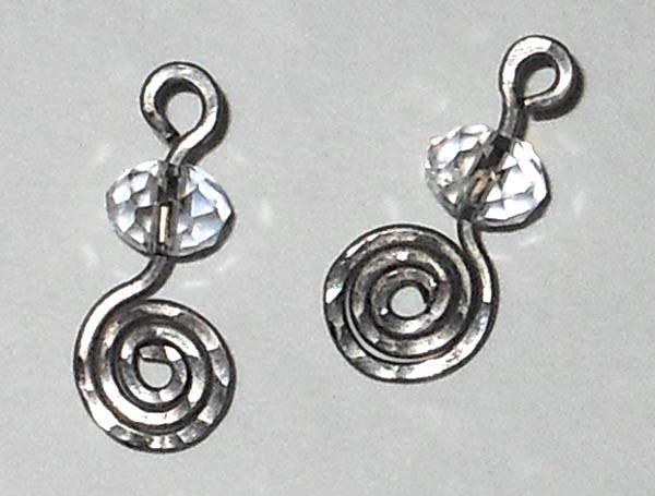 Hypoallergenic Titanium and Crystal Dangles for Hoop Earrings.jpg