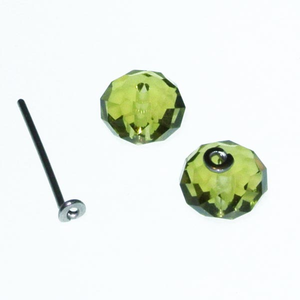 Interchangeable Crystal Beads and Titanium Post Earrings.jpg