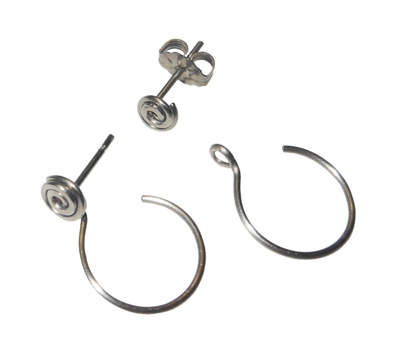 Titanium Posts converted to Hoop Earrings.jpg
