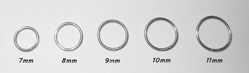 Hypoallergenic Titanium Continuous Hoop Earrings.jpg